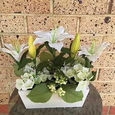 Artificial Plants & Flowers Silk Lily 30 cm Tall