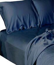 BedVoyage 4 Piece TWIN XL Sheet Set Luxury Viscose Bamboo INDIGO J01049