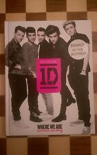 One Direction SIGNED BY ALL 5 Where We Are 100% Official Our Band Our Story Book