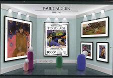 Togo 2015 MNH Paul Gauguin 1v S/S Art Paintings Arearea no varua ino