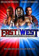 BCW East Meets West DVD - New Japan Pro Wrestling, Booker T, Matt Striker & more