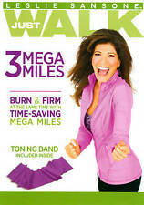 Leslie Sansone: Just Walk - 3 Mega Miles (DVD, 2012, With Band)