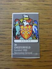 1971/1972 Bartholomew Football Map Club Badge (Cut-Out): 039 - Chesterfield (man