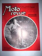 MOTO REVUE N°1507 17 SEPTEMBRE 1960 / NOUVEAUTES ALLEMANDES - LEDORMEUR NATIONS