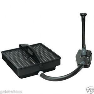 Danner 02212 Pondmaster PMK1250 Pond Filter System & Pump Kit w/ Fountain