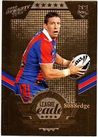 2012 SELECT NRL DYNASTY LEAGUE LEADERS GOLD #LLG8: KURT GIDLEY #99/150 KNIGHTS
