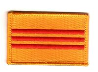 SOUTH VIETNAM VIETNAMESE FLAG PATCHES COUNTRY PATCH BADGE IRON ON EMBROIDERED