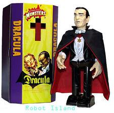 Universal Monsters Dracula Windup Japan Tin Toy Robot Vampire Bella Lugosi