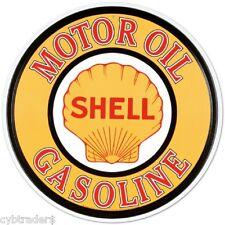 Shell Motor Oil Gasoline  Ad  Refrigerator / Tool Box  Magnet