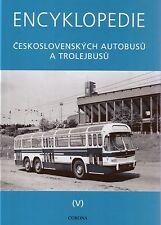 Book - Tatra Bus Trolleybus in Czech Service - Encyklopedie Pt 5 - Omnibus Obus