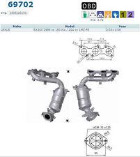 Pot catalytique Lexus RX300 2995cc 150Kw/204cv 1MZ-FE 2/03>1/06, droit, antérieu