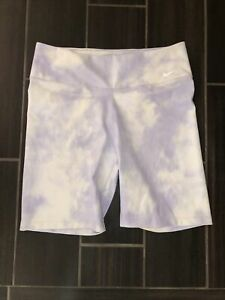 Women's Nike Dri-Fit Biking Shorts- size L- Purple