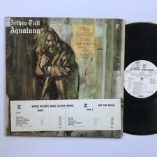 Jethro Tull Aqualung (WLP) LP VG+/VG Rare White Label Promo