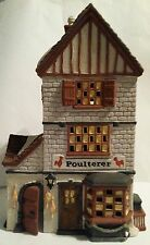Department 56 Heritage Dickens Village Series 1988 The Poulterer #5926-9 In Box