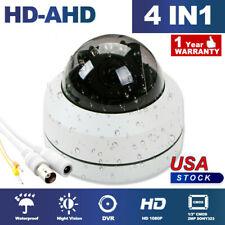 4X Zoom 2PM IP PTZ Camera HD 1080P Speed Onvif IR Dome Outdoor Night Vision CCTV
