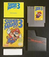 Super Mario Bros 3 Nintendo NES complete tested original authentic