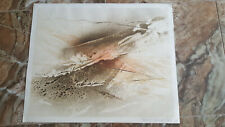 ABSTRACT LITHOGRAPH PENCIL S/N