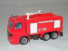 Siku 1034 Mercedes Benz Water Cannon Scania Fire Brigade Tank Fire Truck Red
