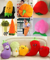 Food Fruit Vegetable Plush Decor Doll Pillow Birthday Cushion Toy Cute Doll Gift