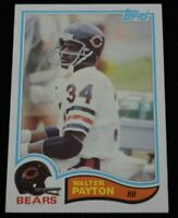 Authentic Football Card Walter Payton Chicago Bears