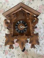 Vintage Cuckoo clock for parts or repair