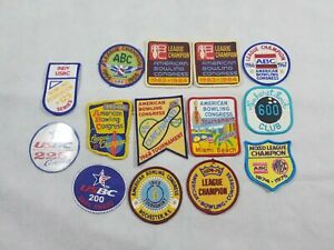 Vintage Bowling Patches Mixed Lot