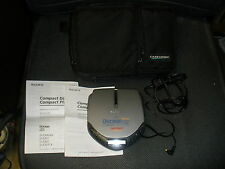 Sony Discman Portable Cd Player D-E307Ck Electronic Shock Protectn Digital Bass