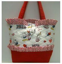 NEW handmade purse tote bag Hearts Mickey Minnie Mouse Disney faffygiraffe