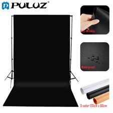 PULUZ 3pcs Photography Studio 3 Colors Backdrop Background Paper Board Kit