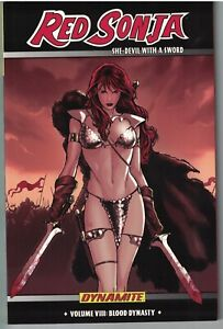 RED SONJA (2005 series) Vol 8 Blood Dynasty TP TPB $19.99srp Walter Geovani NEW