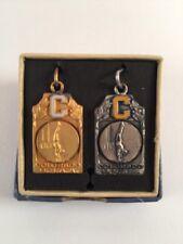 Vintage 1953 & 1954 Colorado High School Athletic Association Pommel Metal
