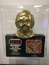 1983 Vintage Star Wars (ROTJ) C-3PO Collector's Case Graded CAS 70 w/certificate