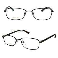 GUCCI GG0063OJ 002 Ruthenium 57/18/145 Eyeglasses Rx Made in Japan - New