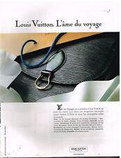 Publicité Advertising 1992 Maroquinerie bagages accessoires Cuir Louis Vuitton