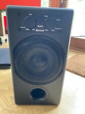 """Adams Audio Sub7 Subwoofer With Remote & Isolating Acoustic """"Stand"""""""