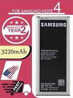 New Original OEM Battery For Samsung Galaxy Note 4 Battery 3220mah EB-BN910