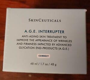 Skinceuticals AGE A.G.E. Interrupter 50ml/ 1.7oz Mature skin.Manufacturer Sealed