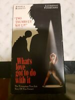 Whats Love Got to Do With It (VHS, 1994)Biopic of Tina Turner