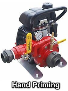 "Portable Centrifugal FIRE PUMP - 5100 GPH - 51 PSI - 1.5"" - 2 HP Honda Engine"