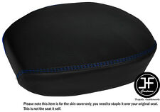 R BLUE DS STITCH CUSTOM FITS HARLEY DAVIDSON SPORTSTER 883 REAR VINYL SEAT COVER