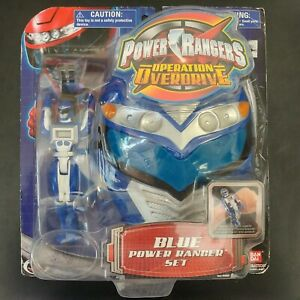 Power Rangers, Operation OVERDRIVE, Blue Set - BANDAI NIB