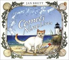 Comet's Nine Lives by Jan Brett c2001, NEW Paperback, We Combine Shipping
