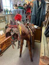New listing Amazing Antique Asian Ceremonial Saddle Straps Horse Decorations
