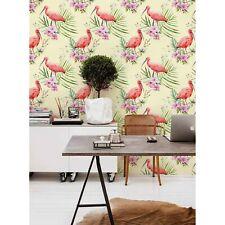 Dekoration Exotische Flamingo Palme Wandtapete Blatt Selbstklebend Haus
