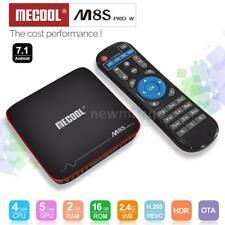 MECOOL M8S PRO W Android 7.1 Quad Core TV BOX 2GB/16GB 2.4G WiFi HD Media Player