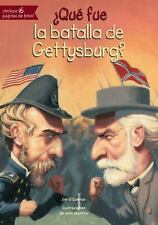 ¿Qué Fue la Batalla de Gettysburg? by Jim O'Connor (2016, Paperback)