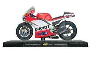 VALENTINO ROSSI Ducati GP12  2012 MotoGP Bike - Collectable Model - 1:18 Scale