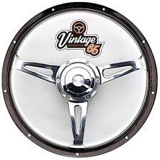 """VW TRANSPORTER T3 t25 17 """" Piatto classico Dark Cerchio in legno STERZO BOSS &"""