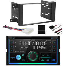 Jvc 2-Din SiriusXm Receiver, Installation Accessories -Fits 11-14 Subaru Impreza