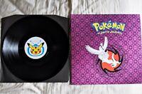 Pokemon JOHTO JOURNEYS Soundtrack Vinyl LP Record Gold Silver Not Moonshake